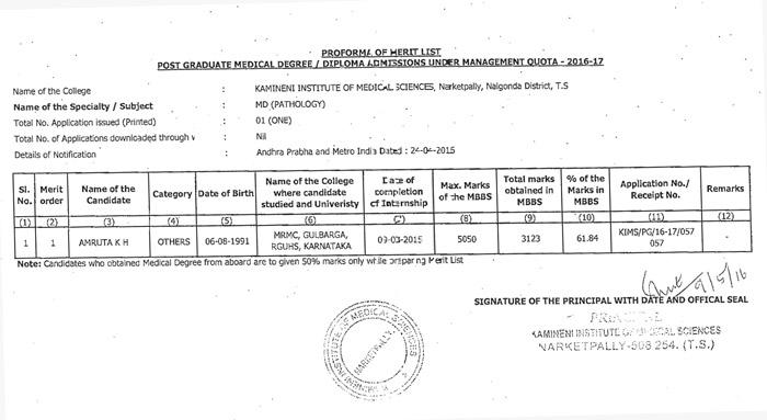Kamineni Institute of Medical Sciences (KIMS)| Best Medical