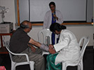 Flow cytometry demonstration by Mr. Badrinarayana, technical expert,B.D diagnostics